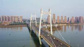 长沙三汊矶大桥视频素材