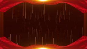 4K粒子丝绸背景视频素材