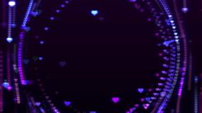 【无缝循环】6款浪漫心形背景视频视频素材包