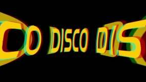 野狼DISCO迪斯科舞曲说唱动感背景视频素材