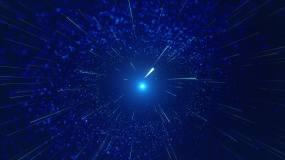 4K粒子光线背景视频素材