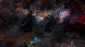 迷幻粒子夢境視頻素材