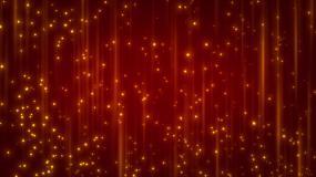 4K動態金色光斑背景視頻素材