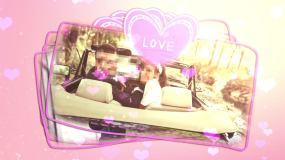 浪漫爱情婚礼图片相册模板AE模板