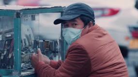 武汉疫情城市生活小区封闭管理视频素材