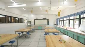 学校音乐教室美术教室舞蹈教室书法室实验室视频素材