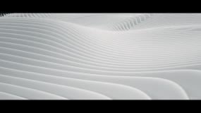 抽象起伏地形视频素材