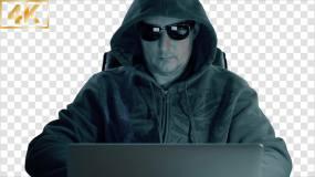 【4K】黑客-alpha通道视频素材包