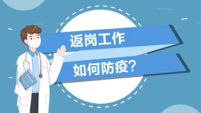 返岗复工防疫防如何预防MG动画新冠肺炎AE模板