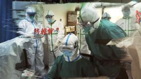 抗击疫情片头图文展示AE模板
