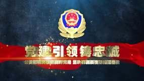 【原创】公安警察通用文字标题片花AE模板AE模板