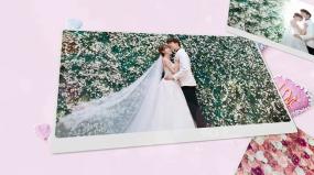 爱的纪念浪漫唯美婚礼相册AE模板