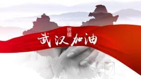 众志成城抗战疫情爱心宣传片相册AE模板