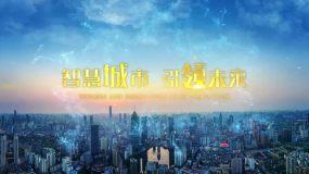 大气科技城市宣传标题字幕AE模板AE模板