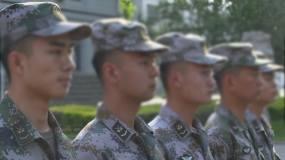 边防军人操练视频素材包