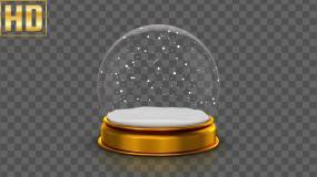 水晶球-alpha通道视频素材包