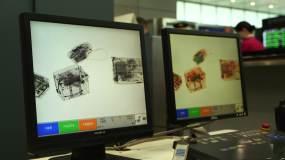 机场非洲旅客入境通关视频素材