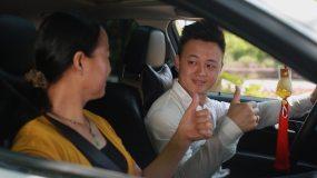 文明出行-开车过程请勿打电话视频素材