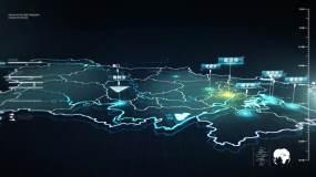 湖北地图-16AE模板