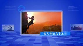 (原创)大气简约企业科技图文展示AE模板AE模板