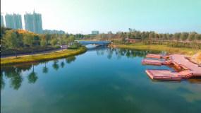 城市公园生态风景视频素材