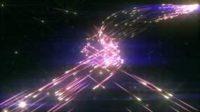 流星发射空间运动背景视频素材