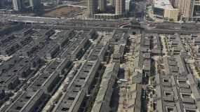 青岛即墨无人机4k航拍即墨古城视频素材