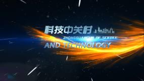 科技小标题3D标题AE模板