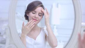 美女模特护肤保养美肤高清视频素材视频素材