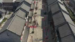 即墨古城4k航拍视频素材视频素材