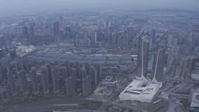 4K-HLG原素材-南京国际博览中心视频素材