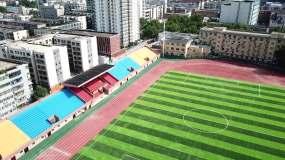 郑州体育馆航拍视频素材