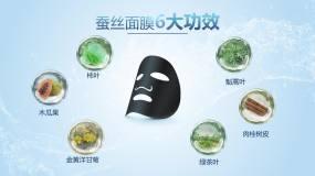 面膜产品广告AE模板
