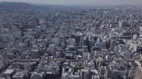 日本大阪城市乡村生活风光旅拍航拍视频素材