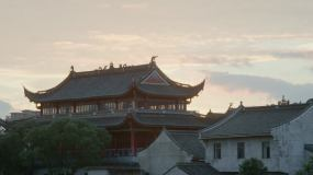 1080P-空镜寺庙延时视频素材