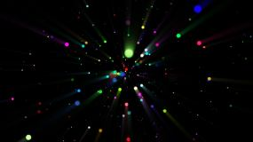 唯美粒子光影光斑视频素材