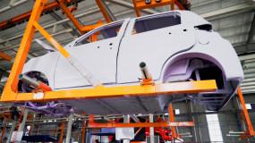 4K【A】新能源电动车机械制造视频素材