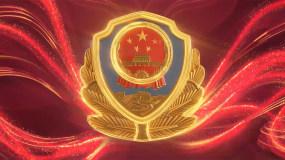 大气红色警察党政片头AE模板AE模板