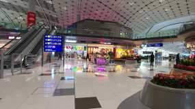 香港新机场内景素材视频素材