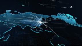 遍布世界地图AE模板