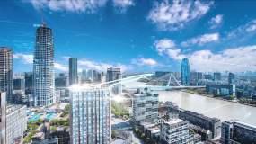 光线数字科技城市AE模板AE模板