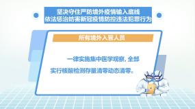 严防境外输入惩治妨害疫情犯罪行为MG动画AE模板