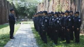 警察射击训练视频素材