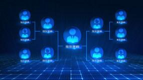 分类组织架构字幕AE模板AE模板