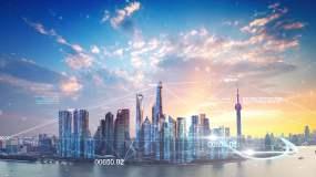 数字科技城市视频素材视频素材