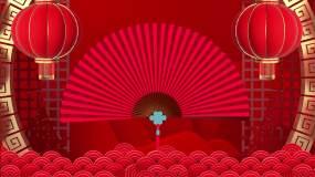 古典中国风相声戏曲舞台背景视频视频素材