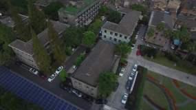 4K温州鹿城区府城区温州老城区视频素材