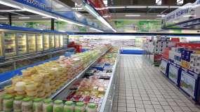 疫情期间超市购物视频素材