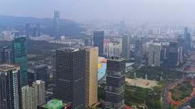 深圳市民中心视频素材