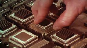 芯片制造视频素材